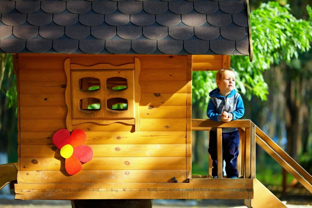 Cubby House for the Kids