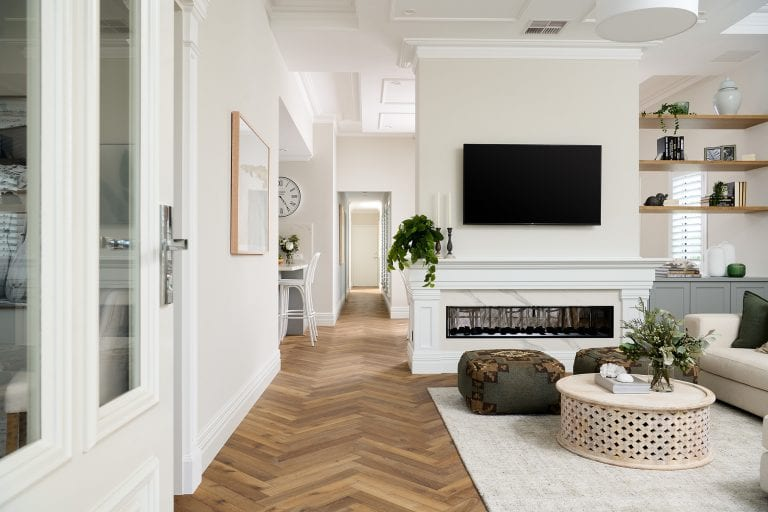 entrance, great room
